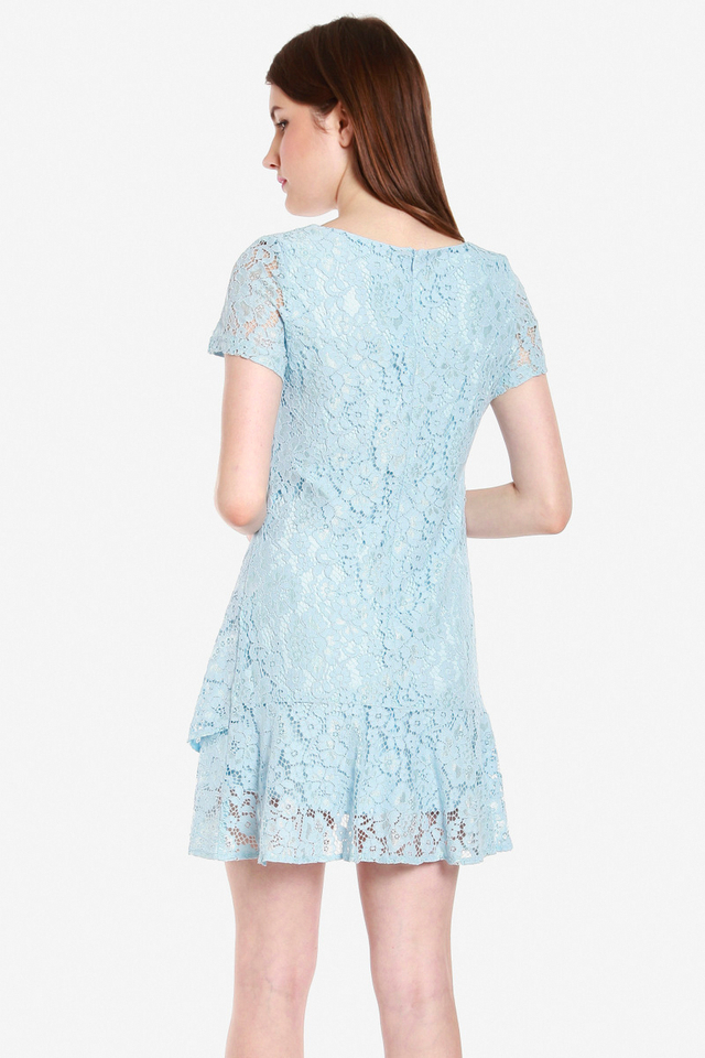Kiefer Short Sleeve Lace Dress