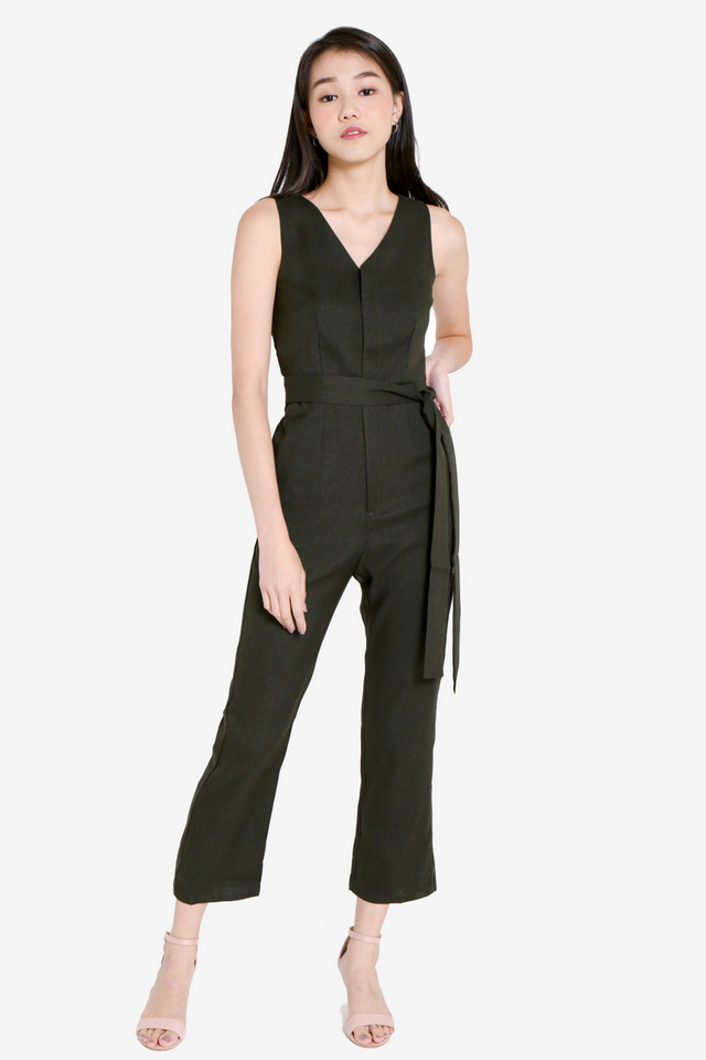 Ayres Jumpsuit (Green)
