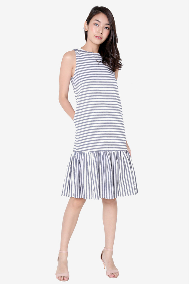 Lia Drophem Midi Dress