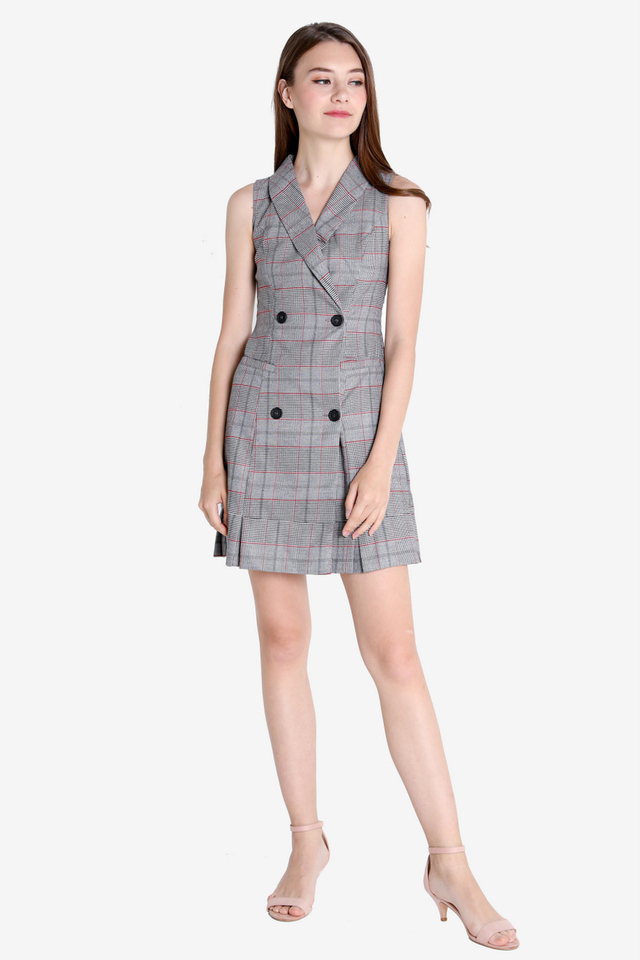 Haines Trench Dress (Plaids)
