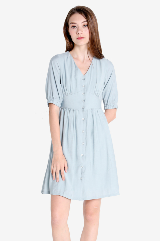 Candis Sleeved Dress (Mint)