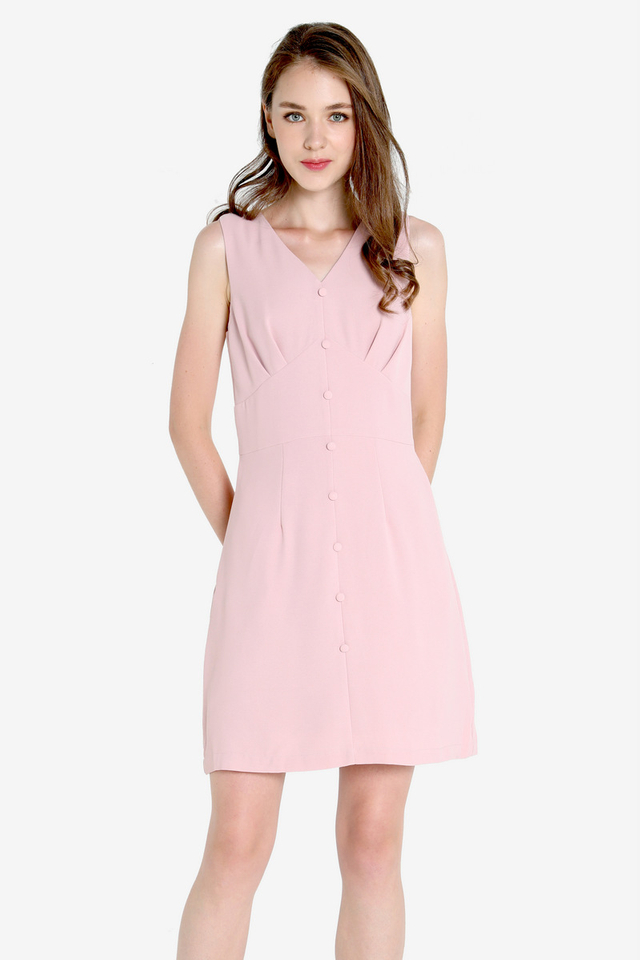 Sheldon Work Dress (Pink)