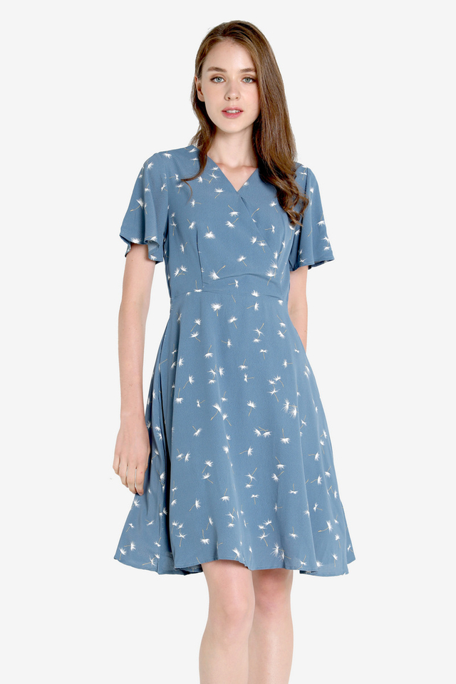 Dandelion Faux Wrap Dress
