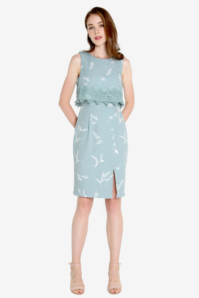 Kristeen Work Dress (Green)