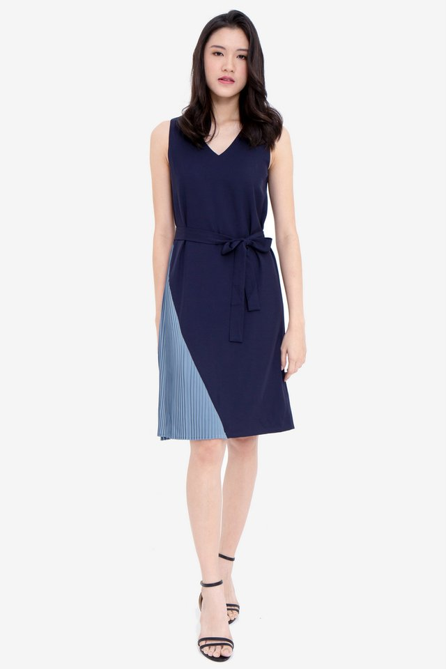Gally Reversible Dress (Navy/Blue)