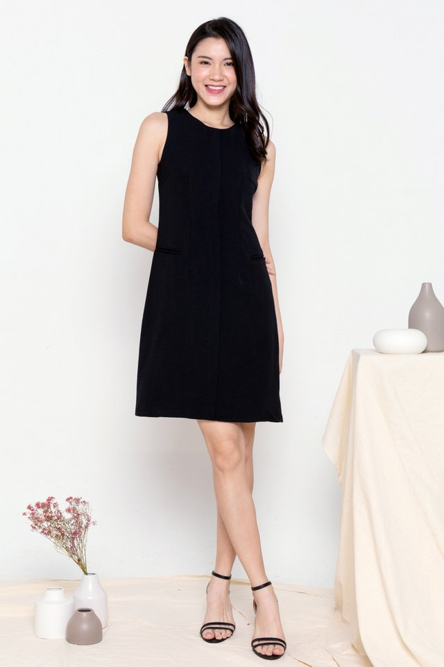 Aliston Work Dress (Black)