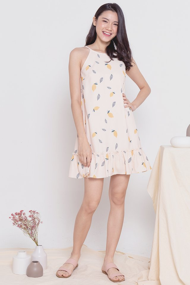 *Restocked* Lemon Dress (Orange)