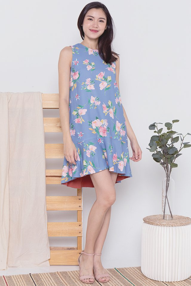 Casey Reversible Floral Dress
