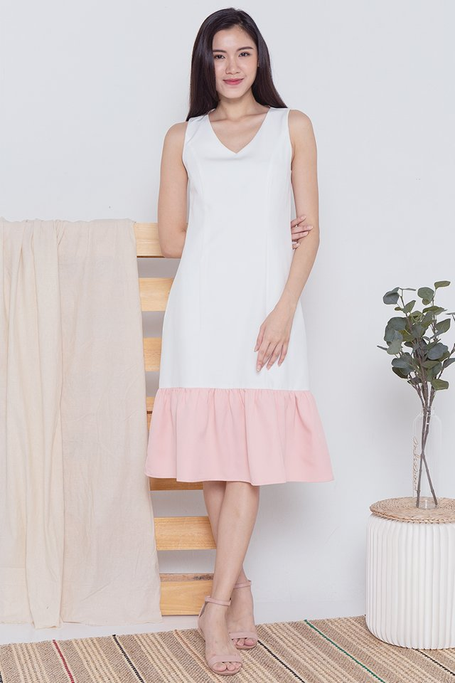 Granger Colourblock Midi Dress