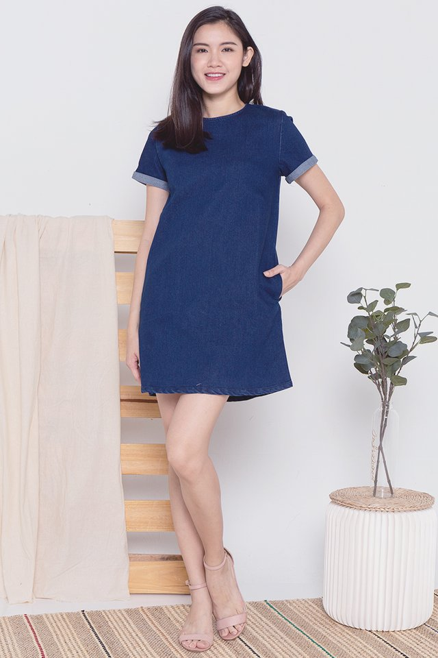 Denim Tee Mod Dress