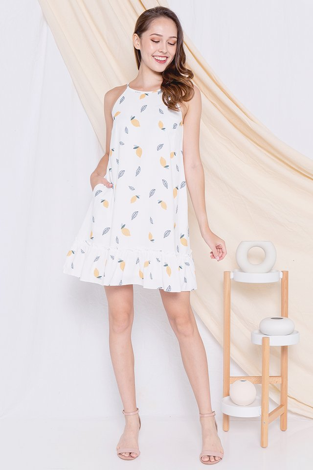 Lemon Dress (White)