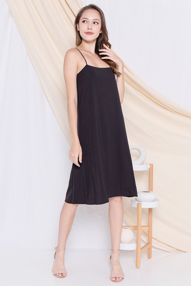 Raven Spag Reversible Dress (Black)