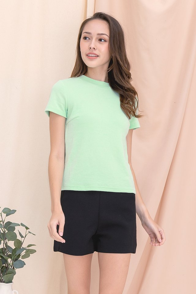 Belinda Basic Top (Mint Green)