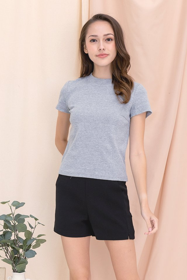 Belinda Basic Top (Grey)
