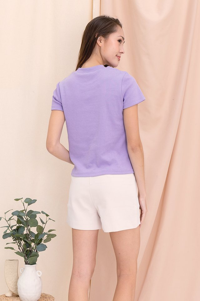Belinda Basic Top (Lilac)