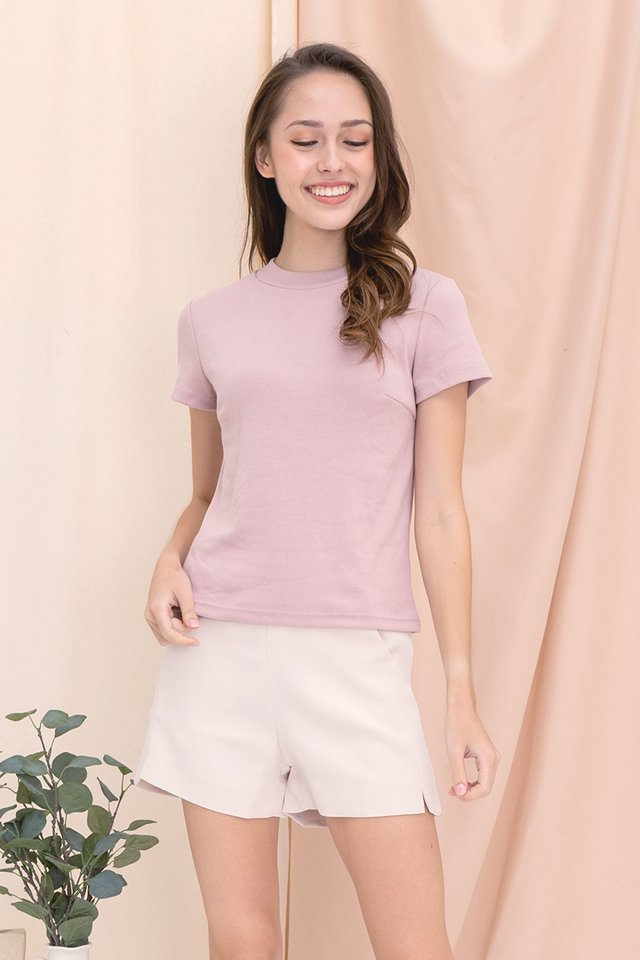 Belinda Basic Top (Dusty Pink)