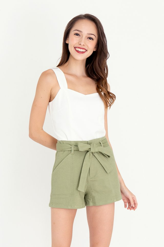 Keith Piping Shorts (Light Green)