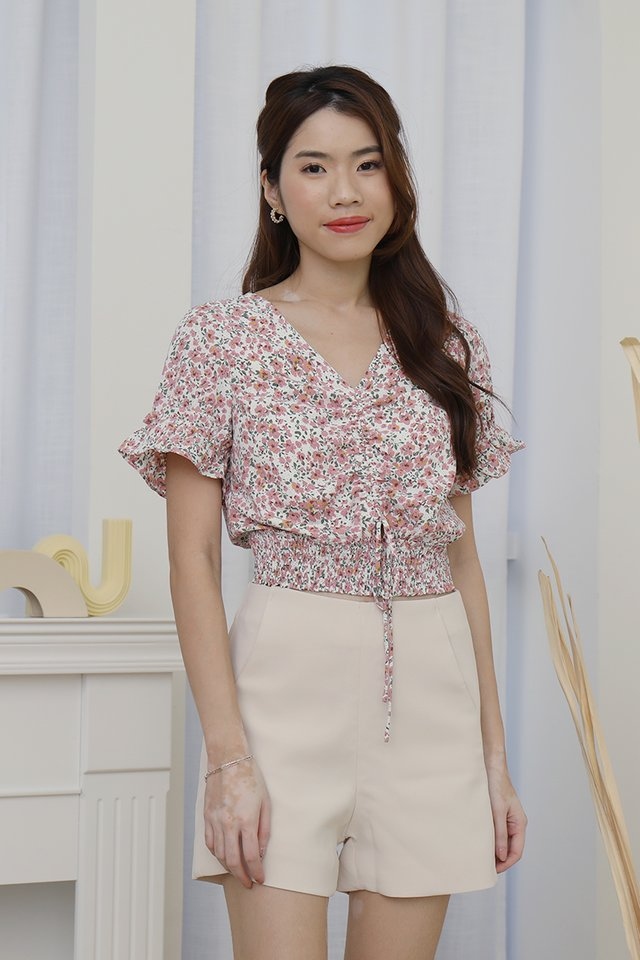 Layla Floral Top (Pink)